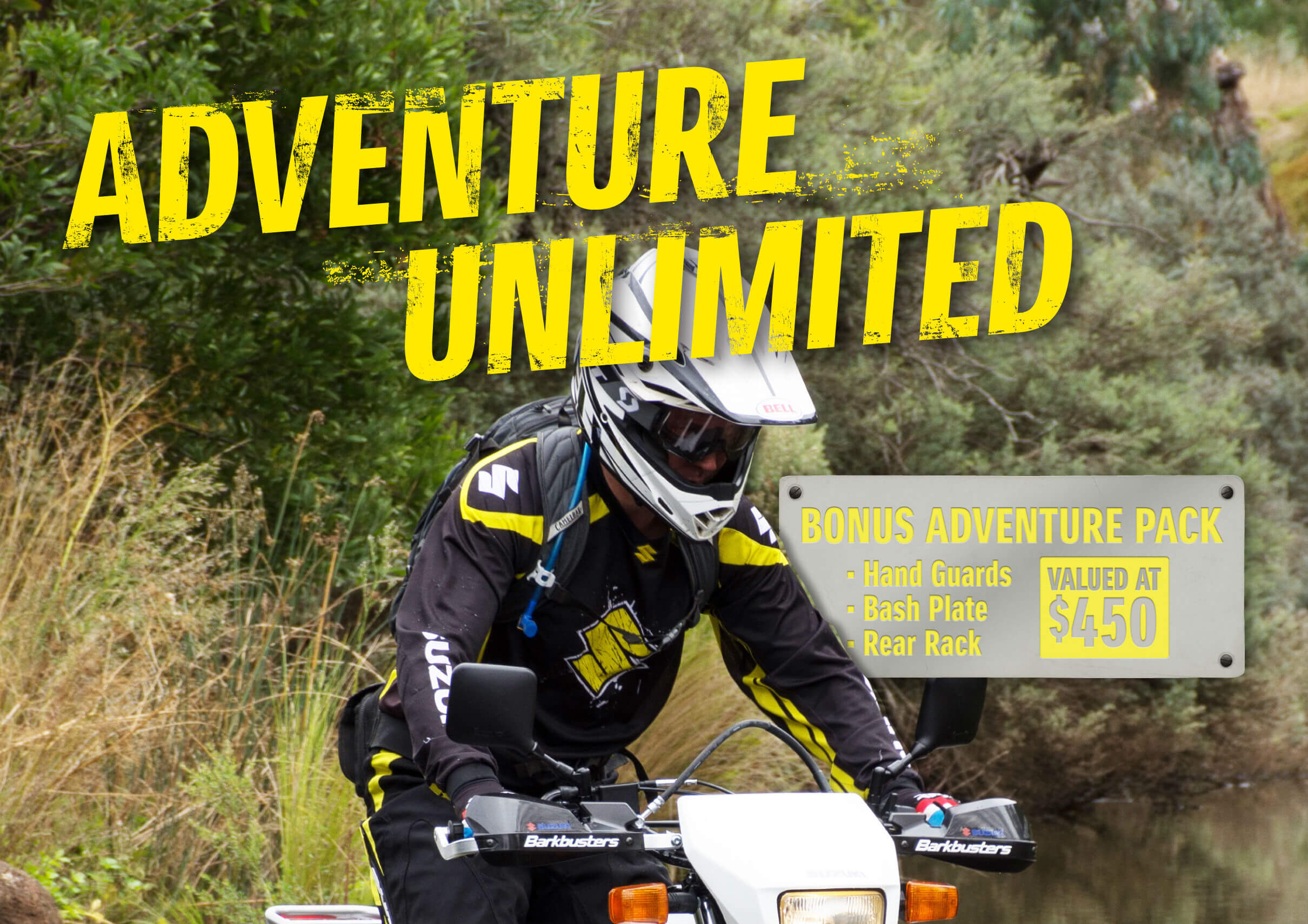 Adventure Unlimited Bonus Adventure Pack Suzuki